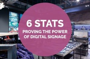 6 Stats Proving the Power of Digital Signage Solutions