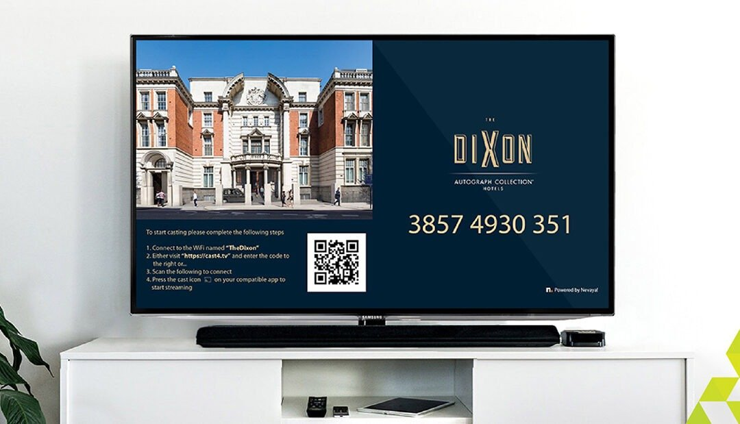 Premier Hospitality: SCS Provides In-Room Technology to The Dixon Hotel, London.
