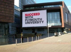LED displays, LED panels, LED video walls - Plymouth Uni