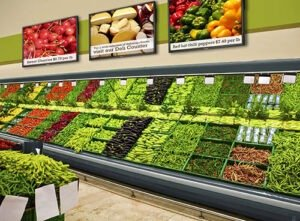 Digital Menu Boards for food stores