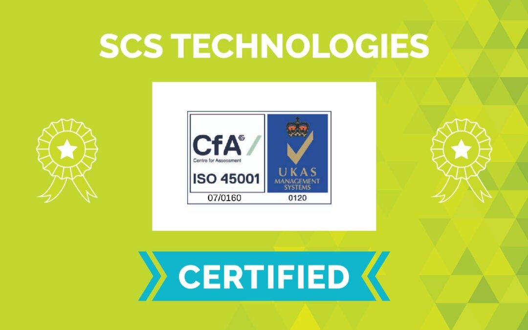 SCS Achieves the New OHS Standard ISO45001:2018