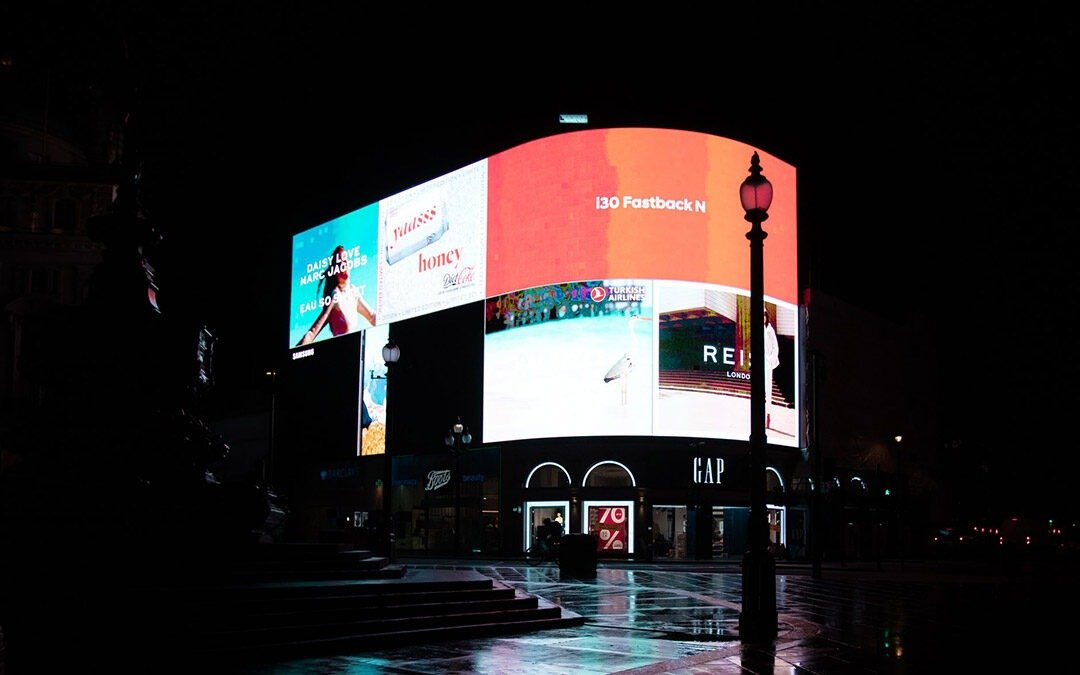 How LED displays are used for advertising