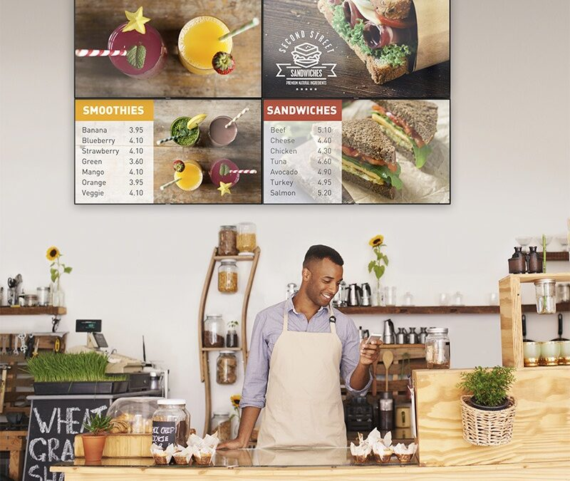 How to upgrade your standard menu to a Digital Menu Board?